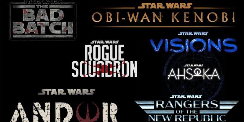 Il calendario di film e serie tv su Star Wars